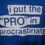 procrastination kills dreams